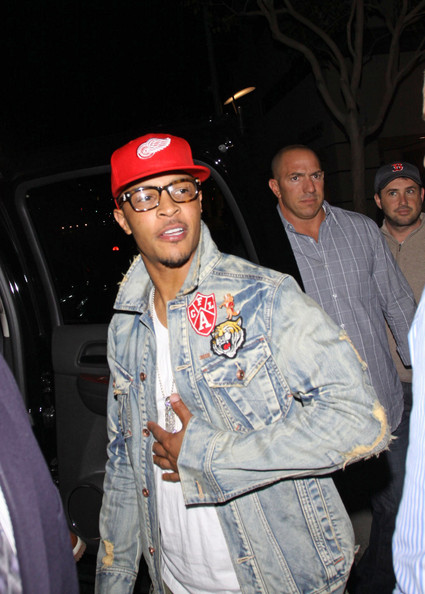 T.I. - T.I. and Wife at Matro's