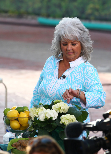 Paula Deen and her son Bobby cook up a storm on Miami beach. Paula