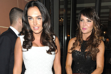 Tamara Ecclestone Lizzie Cundy Tamara Ecclestone and Lizzie Cundy Grab Dinner