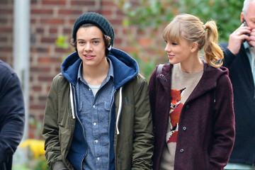 Taylor Swift Harry Styles Taylor Swift and Harry Styles at the Central Park Zoo