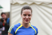 Michelle Ryan joins a host of celebrities, fun runners and professional athletes competing in the 30th London Marathon.