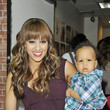 Cree Hardrict Tia Mowry and Cree Stop by 'Wendy Williams'