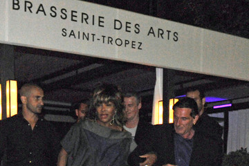 Tina Turner Tina Turner and Erwin Bach in St. Tropez