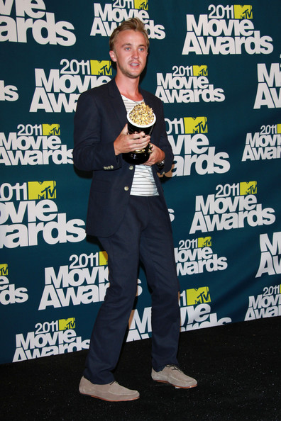 tom felton and jade mtv movie awards 2011. tom felton 2011.