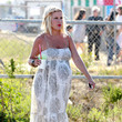Stella Doreen McDermott Tori Spelling at the Malibu Chili Cook-Off