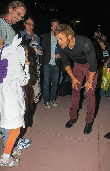 'Twlight' actors Kellan Lutz, Nikki Reed, Ashley Greene and Peter Facinelli seen meeting and greeting surprised fans who have been waiting for days at a Twilight discussion panel at Comic-Con 2012 in San Diego, California.