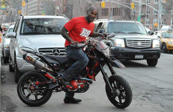 Tyson Beckford in NYC. In This Photo: Tyson Beckford