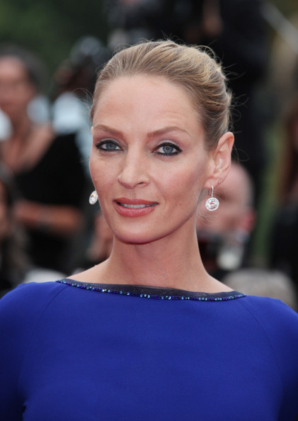 Uma Thurman at the Premiere of