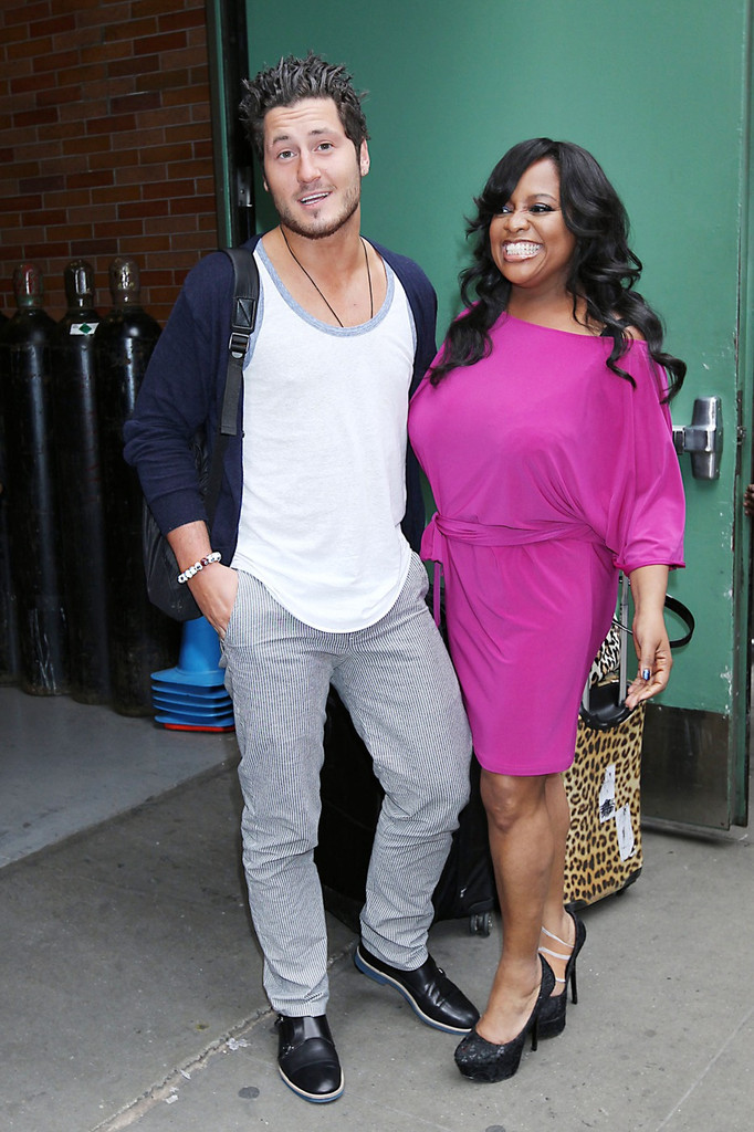 Val Chmerkovskiy Photos - Sherri Shepherd and Val Chmerkovskiy appear