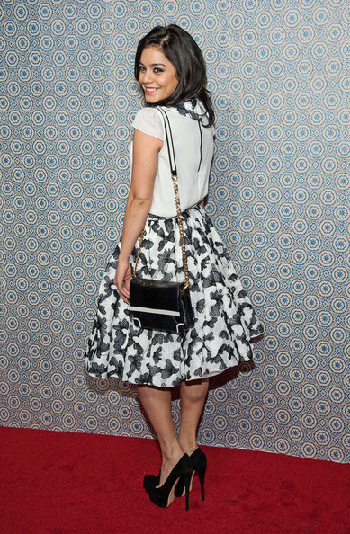 Vanessa Hudgens - Celebs at the Alice + Olivia Show