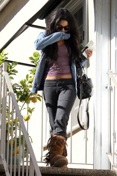 Vanessa Hudgens A shy Vanessa Hudgens hides her face as she visits Ricki Criswell skin care and waxing studio. Photograph: Matt Symons, © PacificCoastNews.com**FEE MUST BE AGREED PRIOR TO USAGE** **E-TABLET/IPAD & MOBILE PHONE APP PUBLISHING REQUIRES ADDITIONAL FEES** UK OFFICE:+44 131 557 7760/7761 US OFFICE:1 310 261 9676...Photograph: Matt Symons.