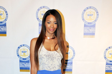Vanessa Simmons Eva Marcille and Shoshana Bean attending the 22nd Annual NAACP Theatre Awards at the Directors Guild of America in Los Angeles