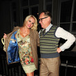 T-Weed Vic Reeves and Nancy Sorrell at Il Bottaccio