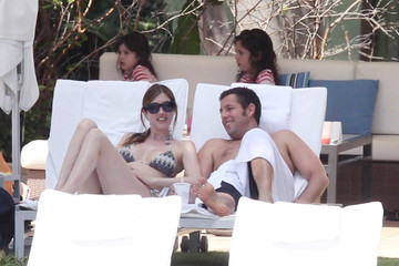 Jacqueline Samantha Titone Adam Sandler and Family by the Pool