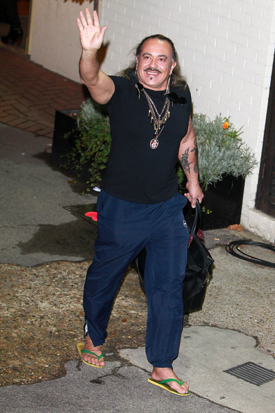 Celebrities Leave Fountain Studios after Attending 'The X Factor' Results Show