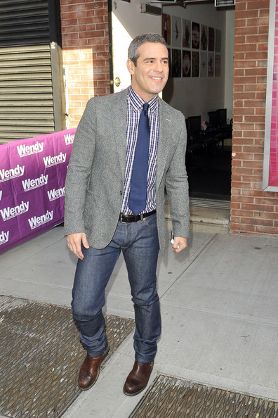 andy cohen height weight