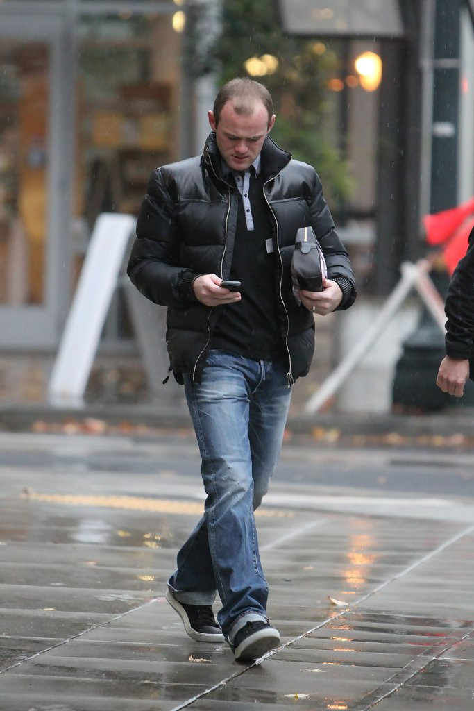 Wayne Rooney Fashion Wayne Rooney heads off soggy morning another SxZrKYAhUHmx jpg