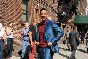 Will Smith Will Smith Arrives at the Ed Sullivan Theater