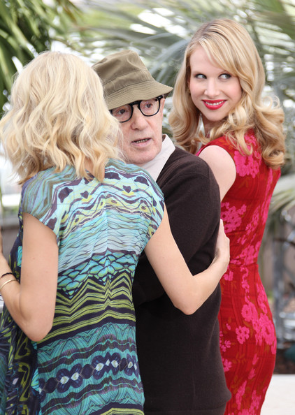 "Naomi Watts and Woody Allen at the ""You Will Meet a Tall Dark Stranger"" Photocall 2 []"