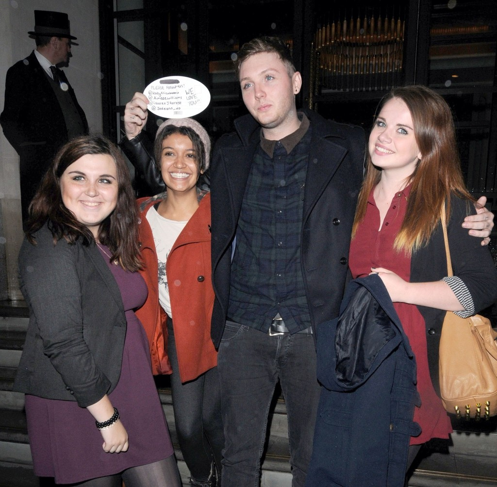 James arthur photos photos x factor contestant james arthur meet x factor contestant james arthur meet and greets fans outside the x factor m4hsunfo