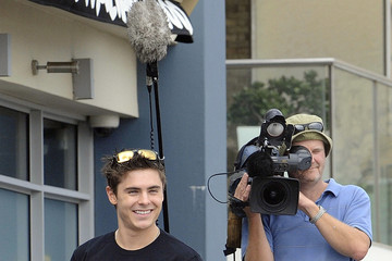 Zack Efron Zac Efron at Oakley's Learn To Ride Charity Surf Event 2