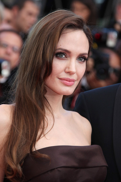 "Angelina Jolie arrives before the screening of ""The Tree of Life"", held during the 64th Annual Cannes Film Festival."