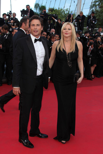 "Rob Lowe arrives before the screening of ""The Tree of Life"", held during the 64th Annual Cannes Film Festival."