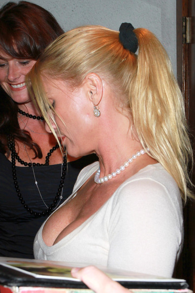 Nicollette Sheridan Pictures Nicollette Sheridan at Madeos -