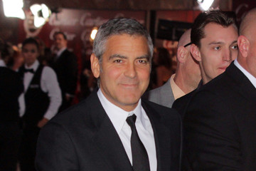 Brad Pitt George Clooney George Clooney at the Palm Springs Film Festival Awards Gala