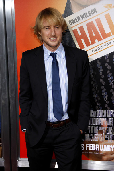 "Owen Wilson at the Los Angeles premiere of ""Hall Pass"" held at the ArcLight Cinemas Cinerama Dome, Los Angeles."