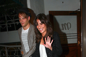 Theo Stockman Lea Michele at Madeo