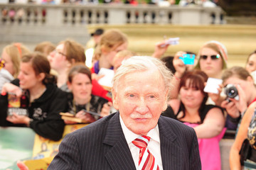 Leslie Phillips The UK Premiere of  'Harry Potter And The Deathly Hallows: Part 2'