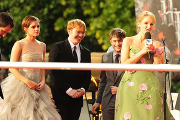 Daniel Radcliffe Emma Watson The UK Premiere of  'Harry Potter And The Deathly Hallows: Part 2'