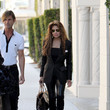 Jackson Family La Toya Jackson Shops in Beverly Hills