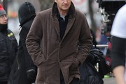 Liam Neeson Fitted Jacket