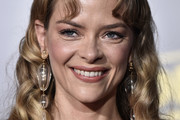 Jaime King Long Curls with Bangs