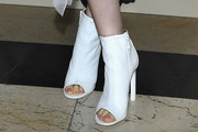 Lily Collins Ankle Boots