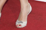 Penelope Cruz Peep Toe Pumps