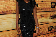 Naturi Naughton Beaded Dress