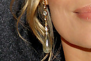 Jeri Ryan Gold Dangle Earrings