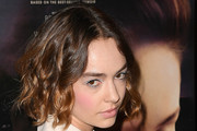 Brigette Lundy-Paine Curled Out Bob