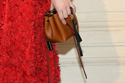 Mia Goth Leather Clutch