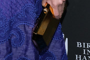 Naomi Watts Metallic Clutch