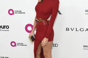 Emily Ratajkowski One Shoulder Dress
