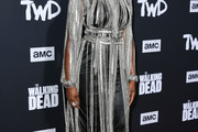 Danai Gurira Fringed Dress