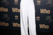 Jessica Hart Wide Leg Pants