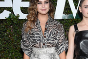 Bailee Madison Print Blouse