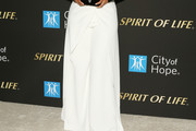 Alicia Keys Wide Leg Pants
