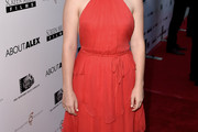 Jane Levy Halter Dress