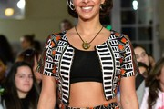 Oona Chaplin Crop Top